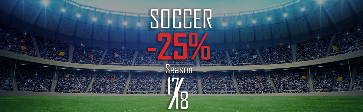 Soccer Season 17/18 25% off